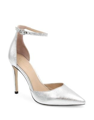 Hayworth Ankle Strap Leather Pumps by Rachel Zoe