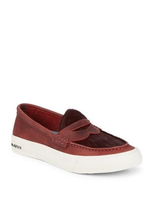 Slip-On Suede Loafers by Seavees
