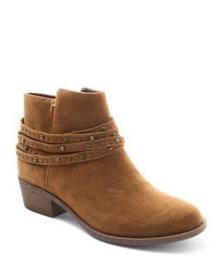 Garuda Suede Booties by Kensie