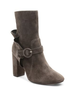 Lacey Suede Booties by Kensie