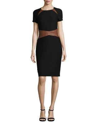 Panel Knee-Length Dress by Nue By Shani