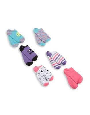 Six-Pack Multicolor Socks...