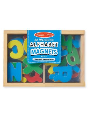 Wooden Alphabet Magnets