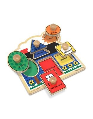 First Shapes Jumbo Knob Puzzle 500087472781