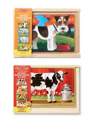Pets and Farm Box Puzzle Bundle 500087473657