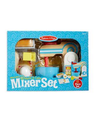 MakeaCake Wooden Mixer Set