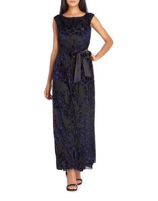 Burnout Midi Dress by Tahari Arthur S. Levine