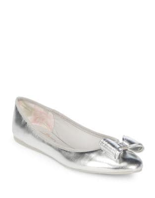 Immet Metallic Ballet Flats by Ted Baker London