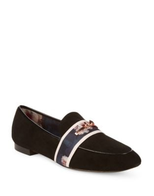 Eliena Suede Loafers by Ted Baker London