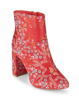 Ishbel Textile Booties by Ted Baker London