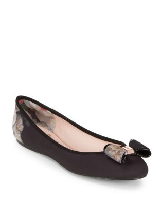 Immep Textile Ballet Flats by Ted Baker London