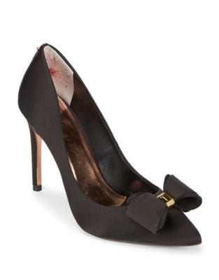 Azeline Satin Pumps by Ted Baker London