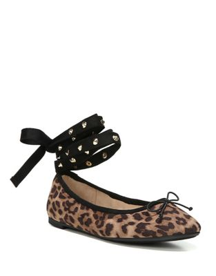 Celyn Fabric Cheetah Flats by Circus by Sam Edelman
