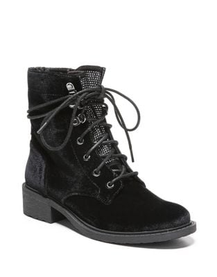 Dawson Velvet Lace-Up Boots by Circus by Sam Edelman