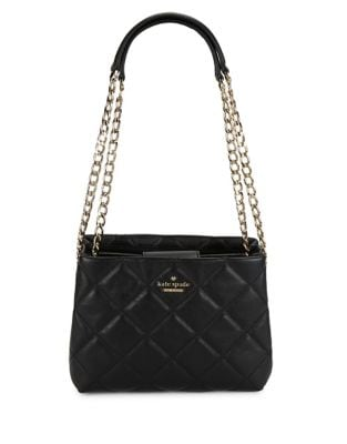 Emerson Place Jenia Quilted Leather Shoulder Bag 500087477823
