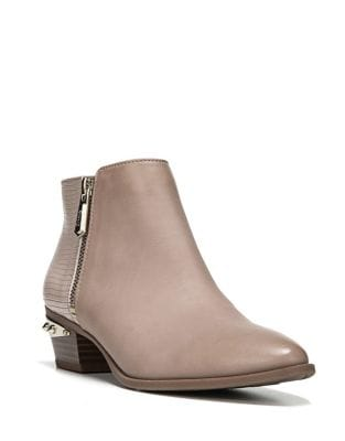 Holt Leather Stud Booties by Circus by Sam Edelman