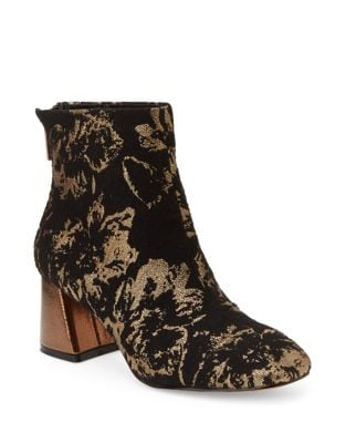 Floral Brocade Booties by Nanette By Nanette Lepore