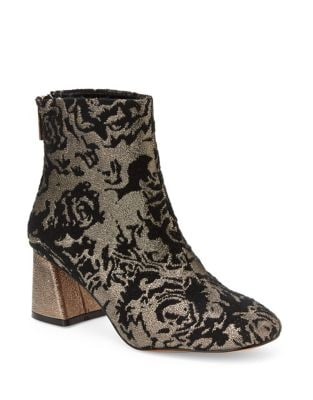 Rose Brocade Booties by Nanette By Nanette Lepore