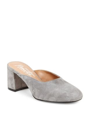 Peggy Suede Mules by Nanette By Nanette Lepore