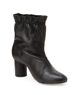Glory Mid-Shaft Leather Booties by Nanette By Nanette Lepore