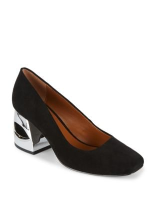 Krista Square Toe Pumps by H Halston