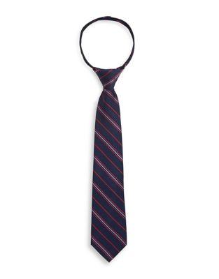 Boy's Pin Striped Silk...