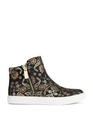 Kiera Printed Textile High Top Sneakers by Kenneth Cole New York