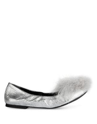 Priscella Leather Flats by Kenneth Cole New York
