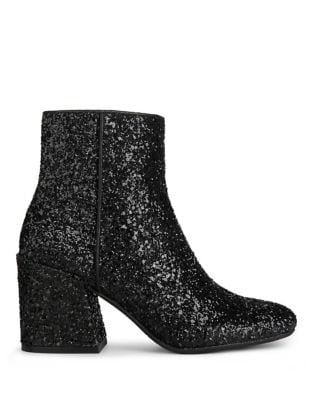 Randii Glitter Booties by Kenneth Cole New York