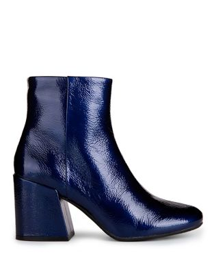Randii Patent Leather Booties by Kenneth Cole New York
