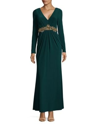 Embellished Evening Dress by Eliza J