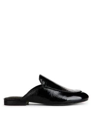 Wallice Patent Leather Mules by Kenneth Cole New York