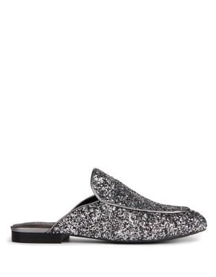 Wallice Glitter Mules by Kenneth Cole New York