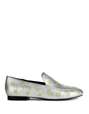 Westley Leather Star Loafers by Kenneth Cole New York