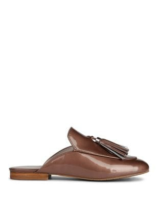 Whinnie Patent Leather Mules by Kenneth Cole New York