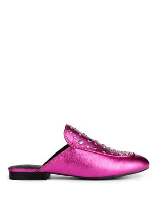 Wynter Leather Stud Mules by Kenneth Cole New York