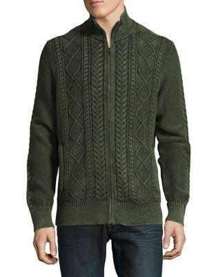 Zip-Front Cotton Jacket...