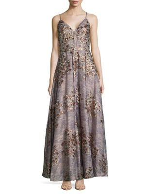 Floral Ballgown by Calvin Klein
