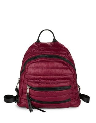 Quilted Backpack @...
