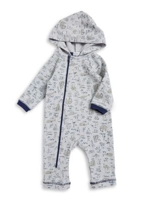 Baby's Bear Hooded Coverall...