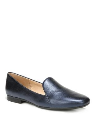Emiline Leather Smoking Loafers by Naturalizer