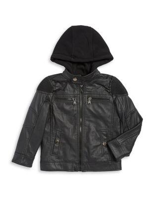 Hooded Long-Sleeve Jacket...