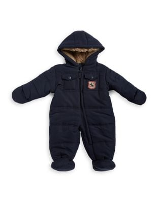 Baby Boy's Hooded Snowsuit...