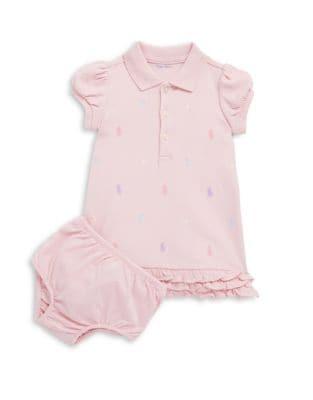 Baby Girls TwoPiece ALine Dress  Bloomers Set