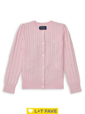 Toddlers Little Girls  Girls CableKnit Cotton Cardigan