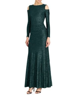Burnout Velvet Gown by Lauren Ralph Lauren