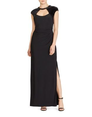 Slim-Fit Velvet Gown by Lauren Ralph Lauren