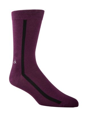 Clock Stripe Casual Socks...