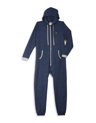 Hooded Jumpsuit @...