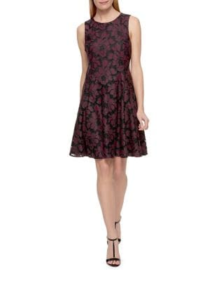 Lace Fit-and-Flare Dress by Tommy Hilfiger